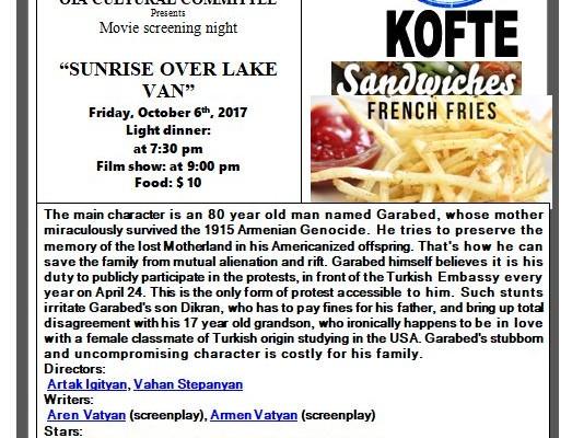 final English movie flyer